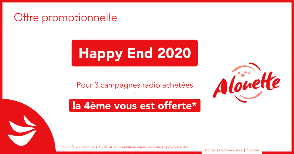 Offre Happy End 2020